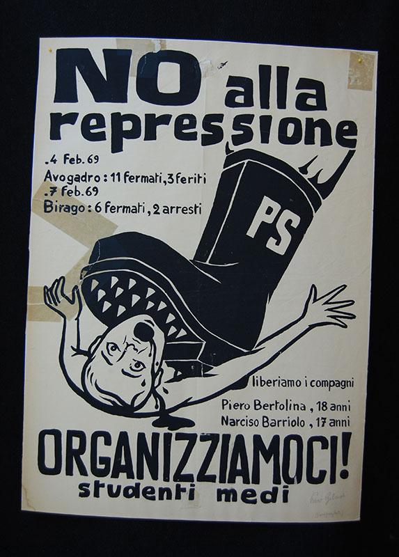 Manifesto serigrafico, 1968