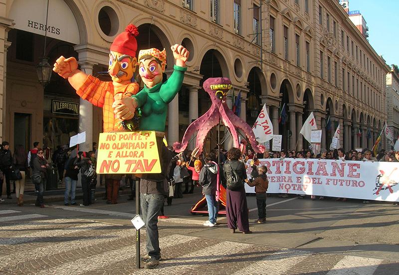 Manifestazione NO TAV, Torino, marzo 2012